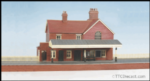 Wills kits CK16 Country Station, Brick Built, With Platform